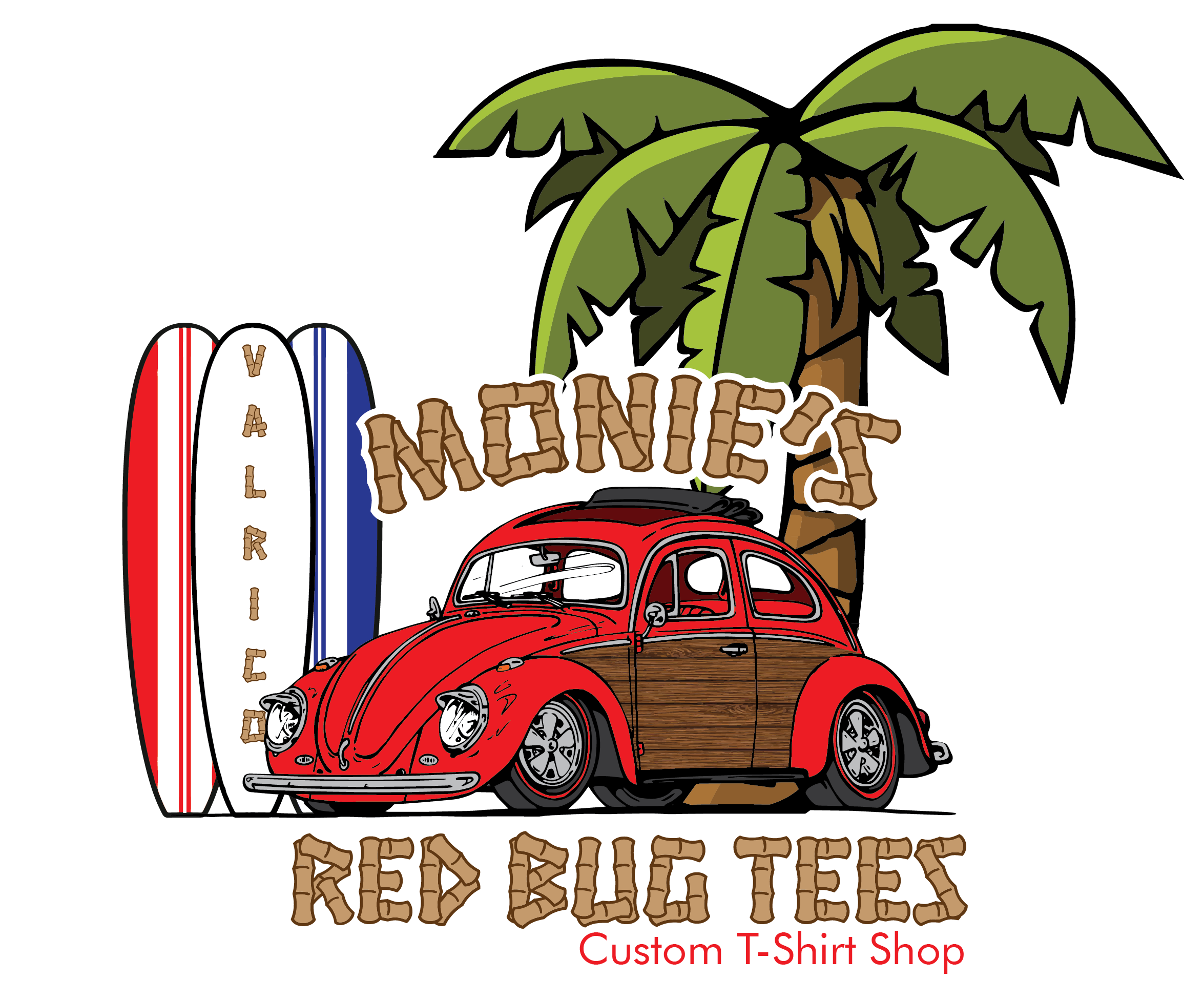 Cheap custom t shirts no minimums red bug tees for Custom logo t shirts no minimum