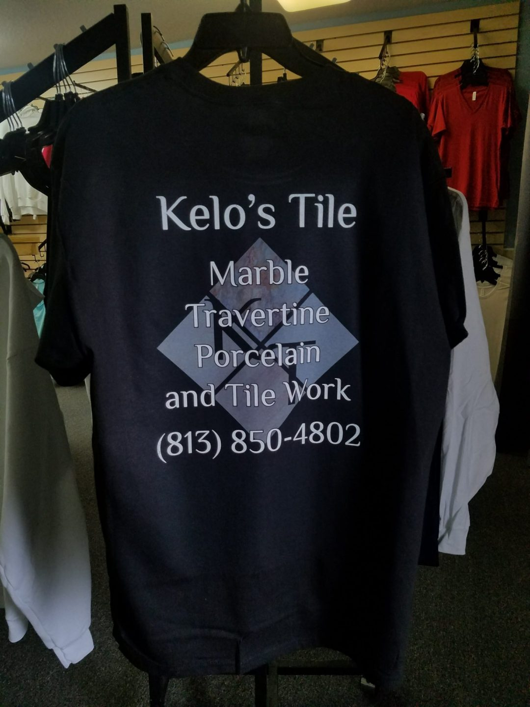 Kelo's Tile Custom T-Shirt