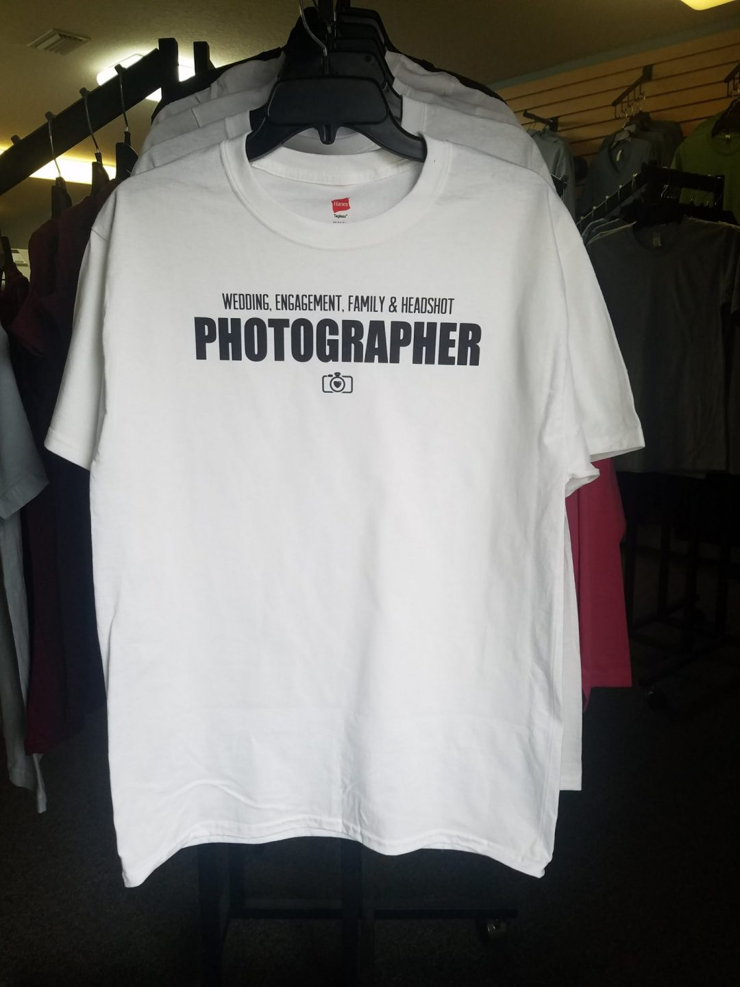 Photographer Custom T-Shirt