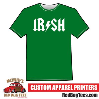 IRISH AC/DC St. Patricks Day T-Shirt