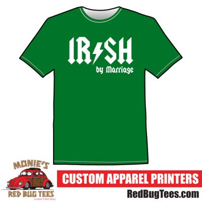 IRISH by Marriage AC/DC St. Patricks Day T-Shirt