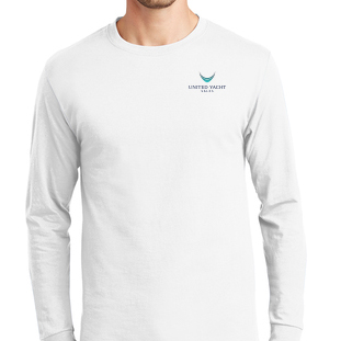 United Yacht Sales White Longsleeve