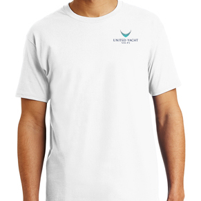 United Yacht Sales White T-Shirt