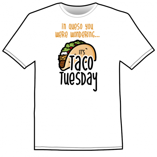 Funny Taco Tuesday Shirt
