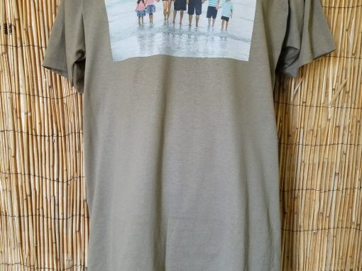 Full Size Family Photo – Supplied Military Shirt